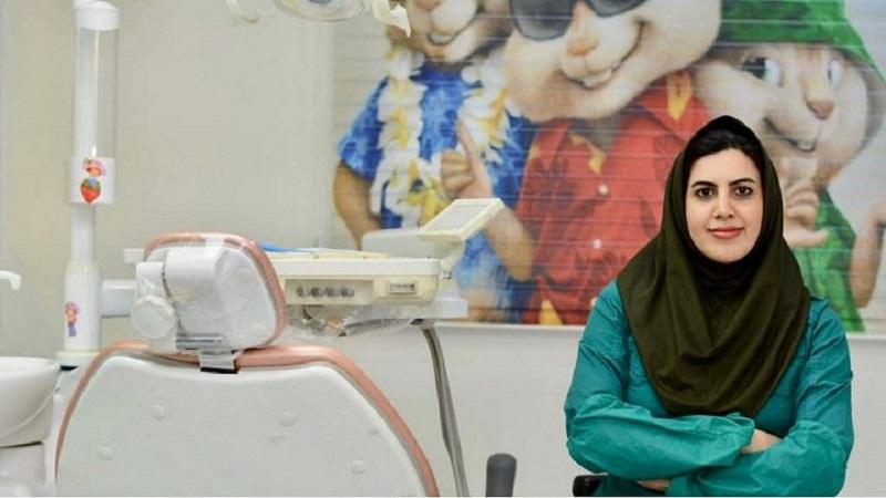 بیمار زبان بند دار دکتر نجمه اخلاقی