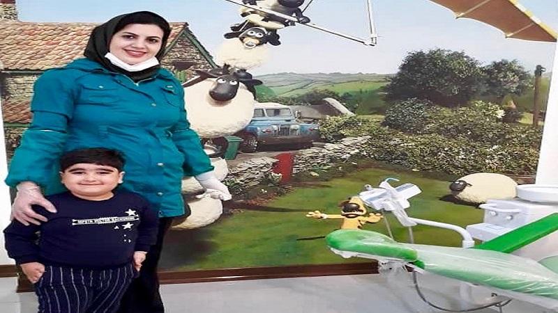 مراجعه کننده مطب دندانپزشکی، پرهام عزیز